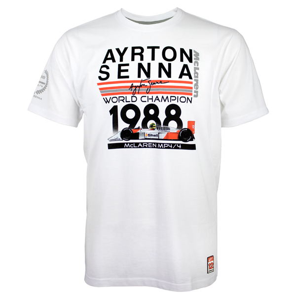 Ayrton Senna tričko  World Champion 1988 McLaren