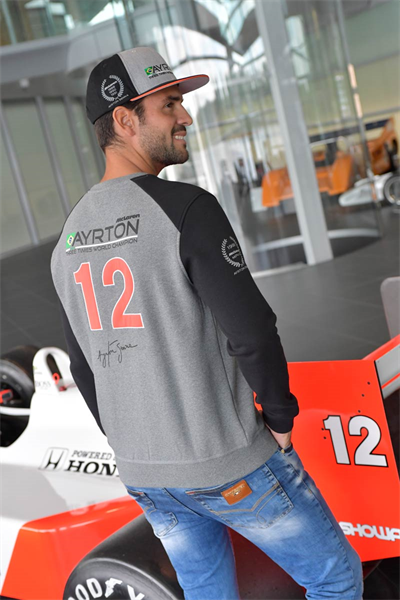 Ayrton Senna Sweatshirt McLaren World Champion 1988